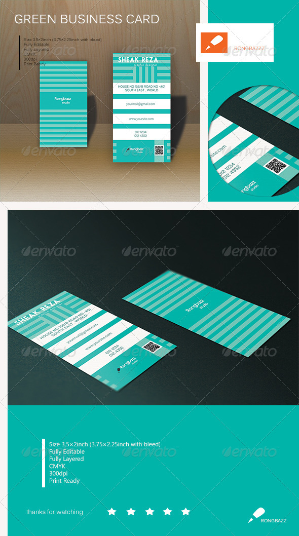 GraphicRiver Soft Creative Business Card 1.0 6384362