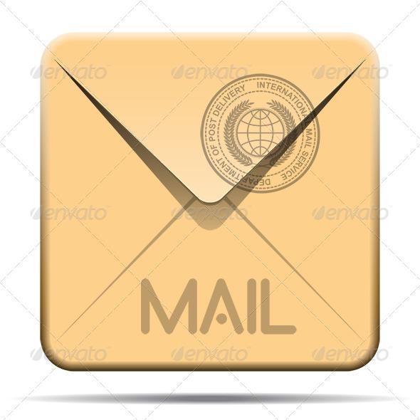GraphicRiver Mail Icon 6384363