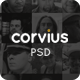 Corvius - Business PSD Template - ThemeForest Item for Sale