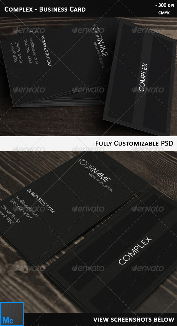 GraphicRiver Complex Business Card 6384404