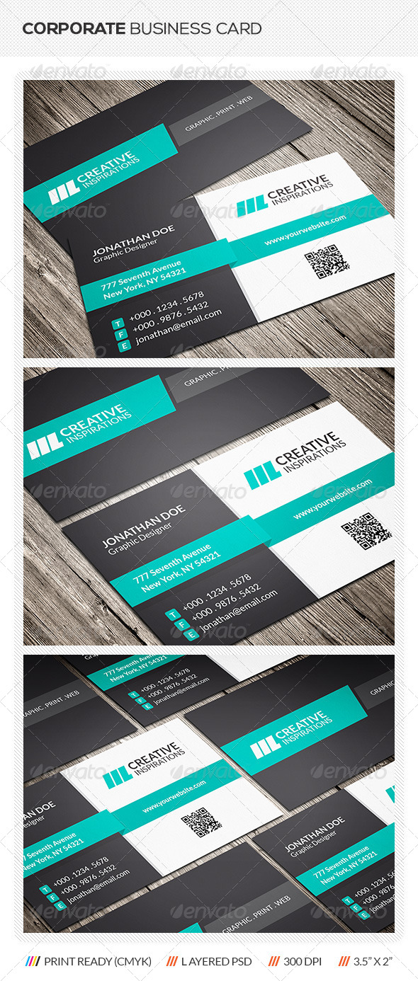 GraphicRiver Corporate Business Card 6384702