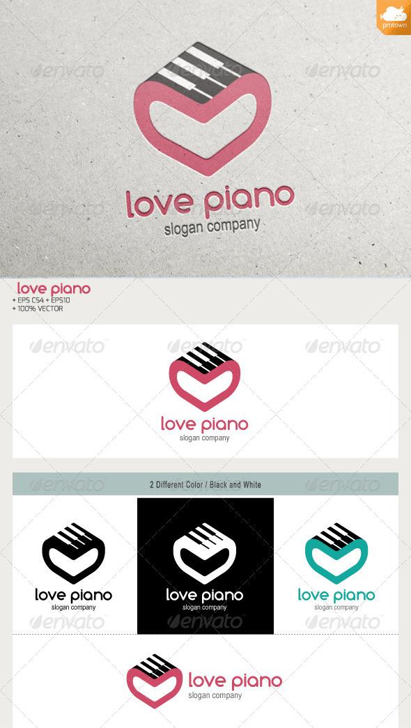 GraphicRiver Love Piano 6384705