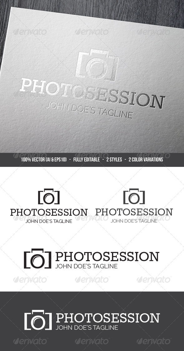 Photosession Logo - Symbols Logo Templates