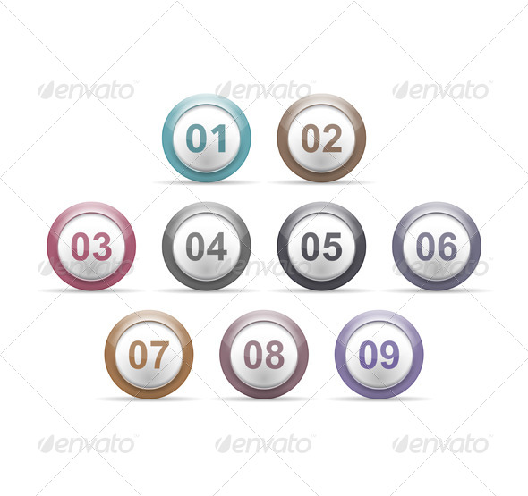 GraphicRiver Numbers 6385174