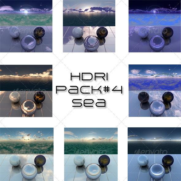 3DOcean Pack 5 Sea 666344