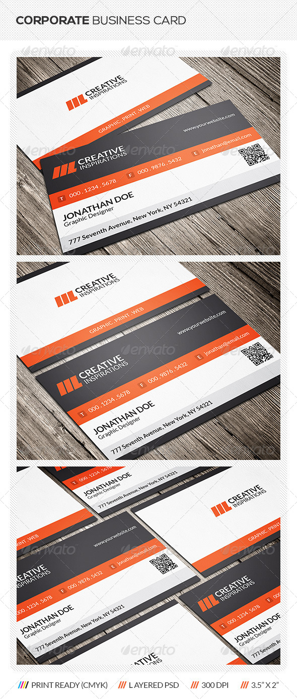 GraphicRiver Creative Corporate Business Card 6385460