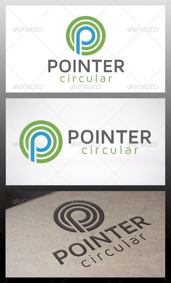GraphicRiver Point Logo 6385780