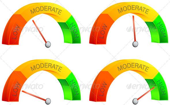 GraphicRiver Performance Meter Illustration 6386072