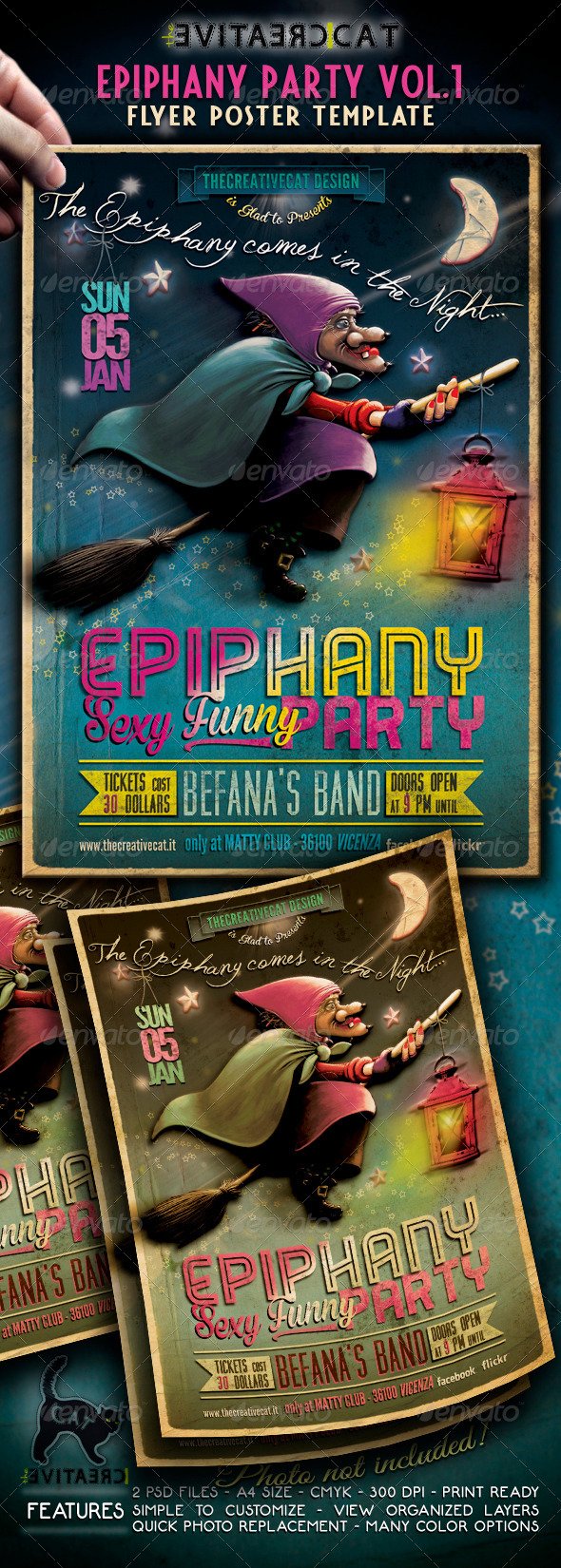 GraphicRiver Epiphany Party Flyer Poster Vol 1 6386269