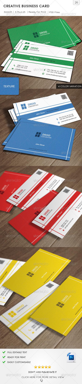 GraphicRiver Creative Business Card v26 6386321