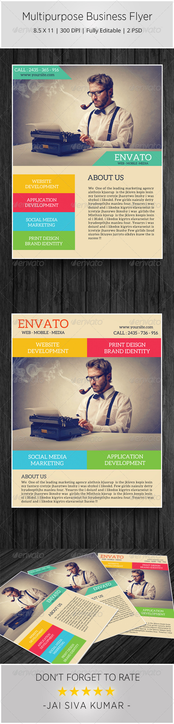 GraphicRiver Multipurpose Business Flyer 6386404