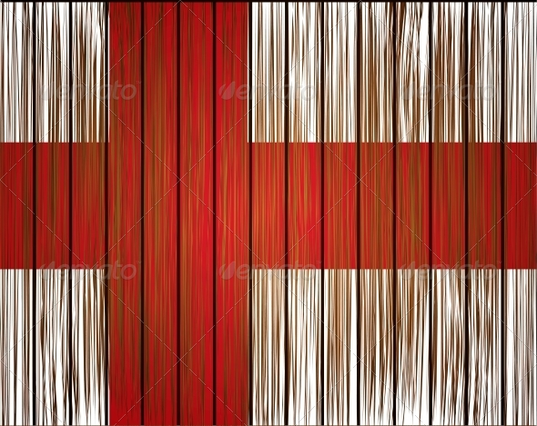 GraphicRiver Vector Grunge England Flag 6386535