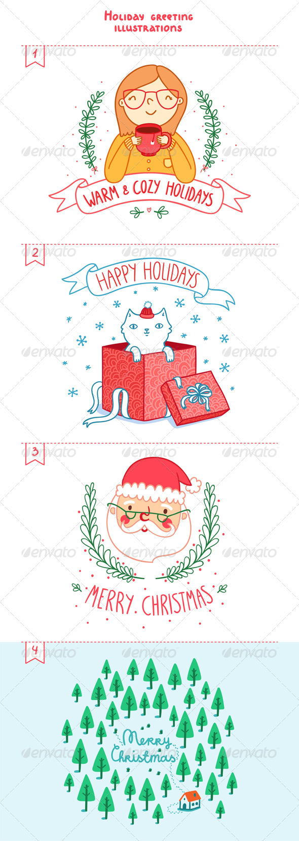 GraphicRiver Holidays Greetings 6386585