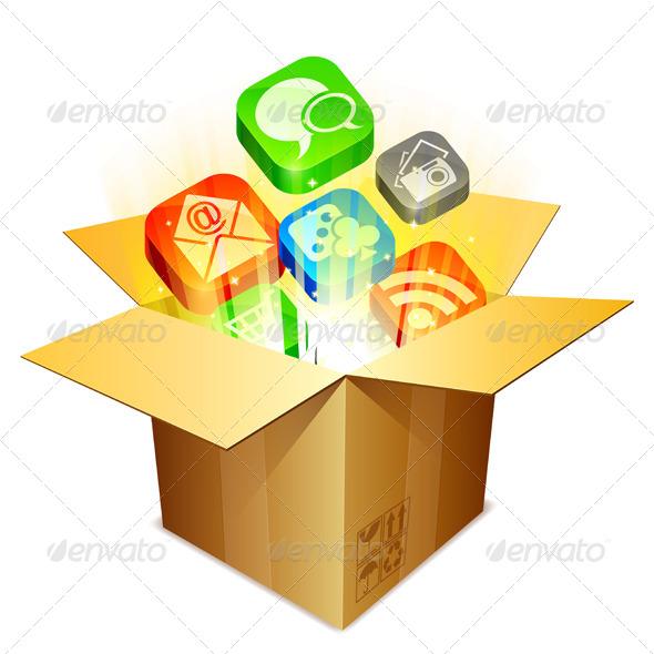 GraphicRiver Media Box 6386586
