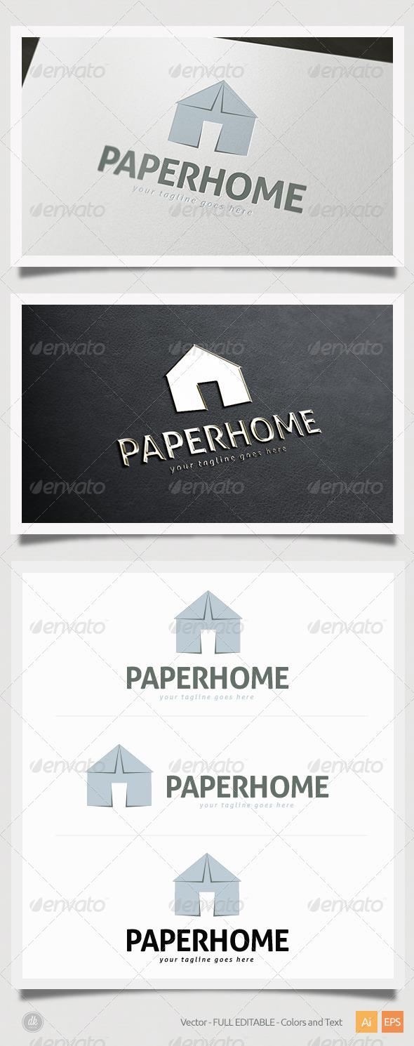 GraphicRiver Paper Home Logo 6386866