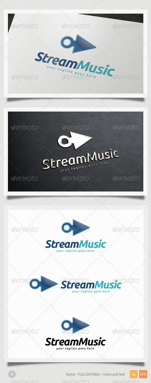 Stream Music Logo