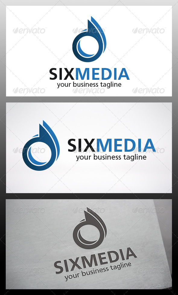 GraphicRiver Six Logo 6387128