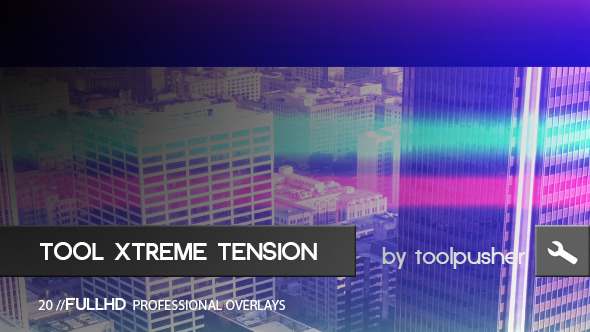 Tool Xtreme Tension Overlays