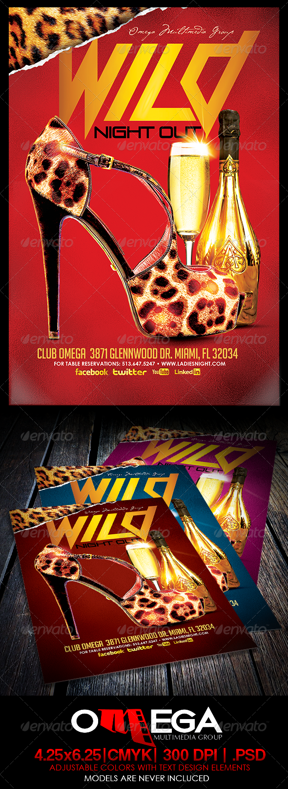 GraphicRiver Wild Night Out 6387229