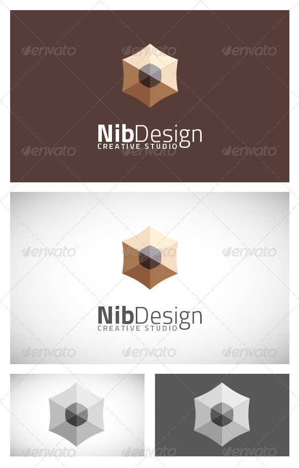 GraphicRiver Nib Design Logo Template 6387265