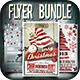Bundle - Christmas Flyer/Card/Poster Vol. 1-2-4 - GraphicRiver Item for Sale