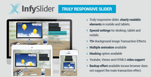 CodeCanyon Infy Slider Truly Responsive WordPress Slider 6387656