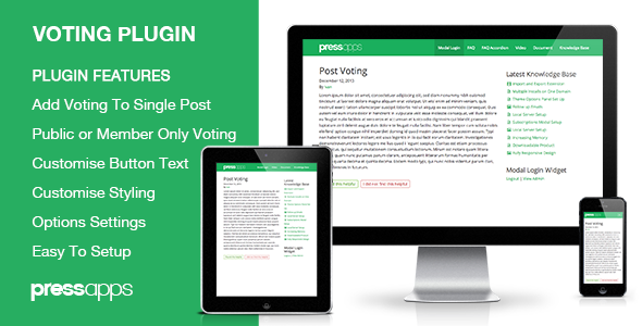 CodeCanyon Post Voting WordPress Plugin 6387672