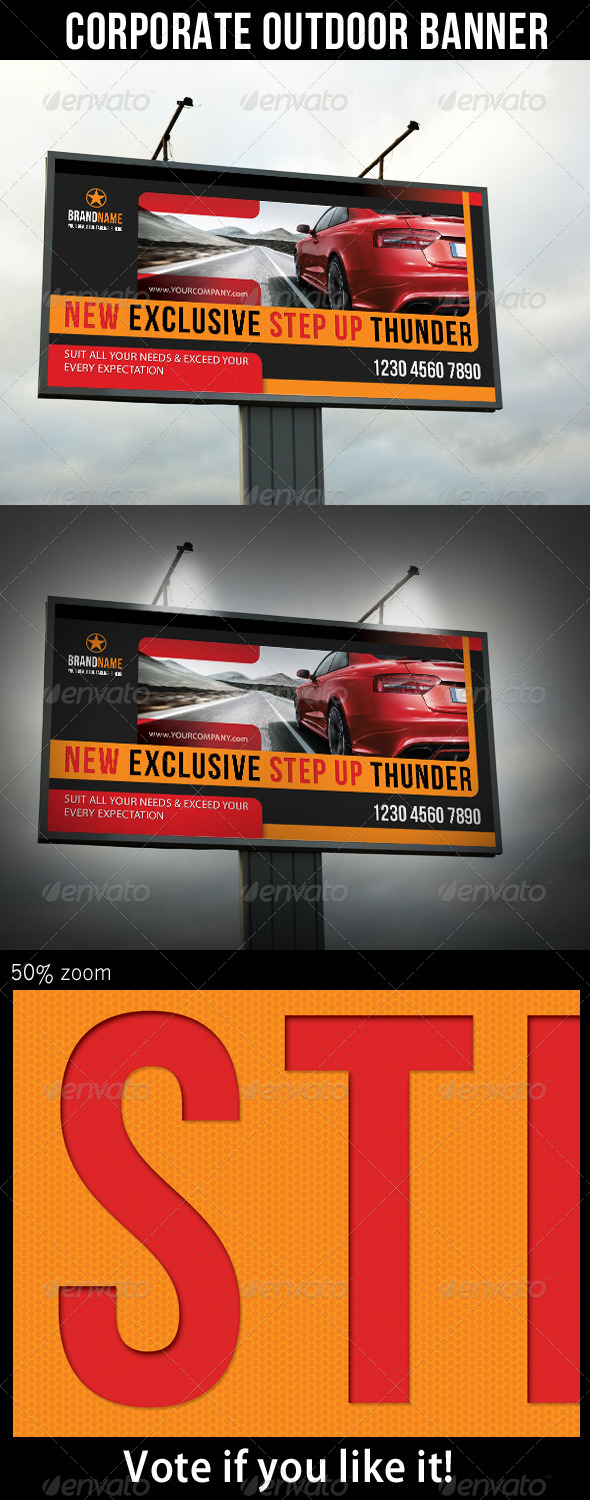 GraphicRiver Corporate Product Outdoor Banner 03 6387683