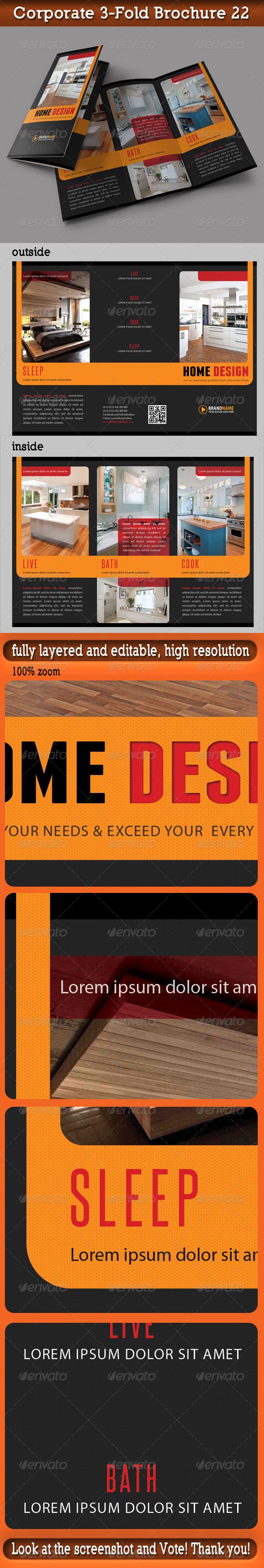 Corporate 3-Fold Brochure 22 - Corporate Brochures