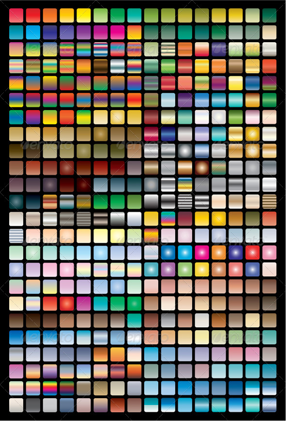 GraphicRiver Vector Swatches & Gradients for Illustrator 6388587