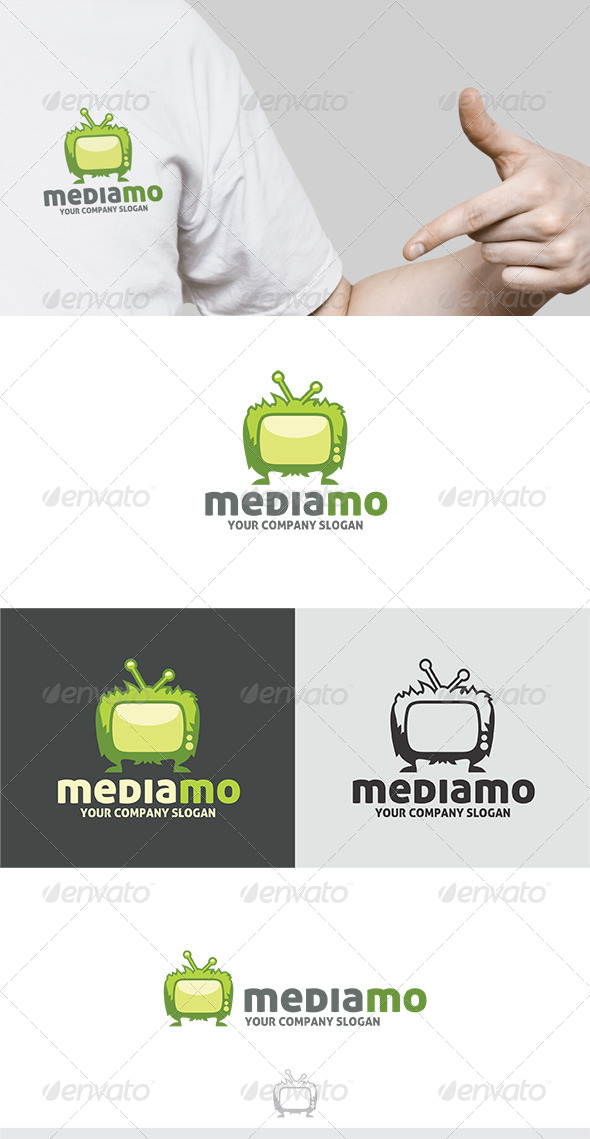 Media Mo Logo - Vector Abstract