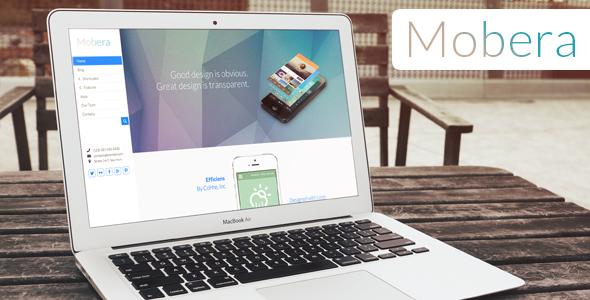 ThemeForest Mobera Premium App Showcase WordPress Theme 6332082