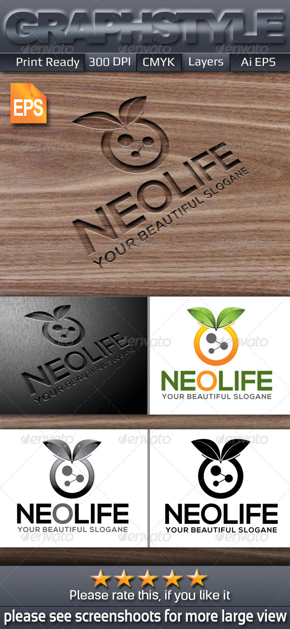 GraphicRiver Neolife Logo Templates 6386906