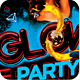 Glow Party Flyer Template V2  - GraphicRiver Item for Sale