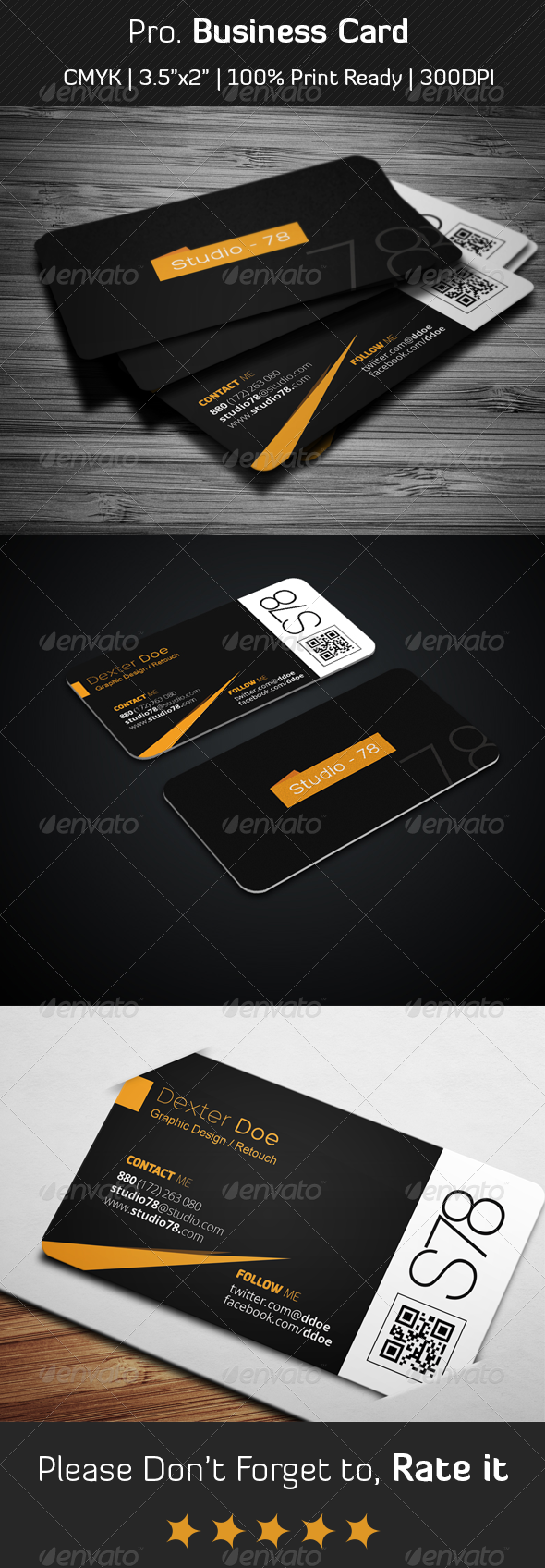 GraphicRiver Pro Business Card 6352732
