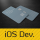 iOS Developer Business Card Template - GraphicRiver Item for Sale