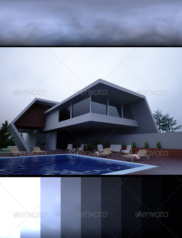 Realsky HDRI Overcast 1644 - 3DOcean Item for Sale