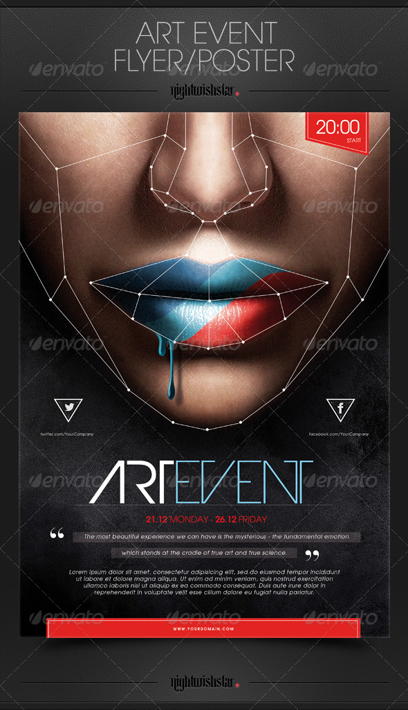 GraphicRiver Art Event Poster Flyer 6390168