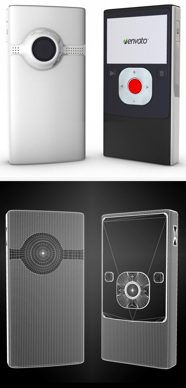 Flip Video Camera - 3DOcean Item for Sale