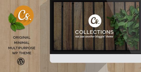 ThemeForest Collections Minimal Multipurpose Blogging Theme 6371973