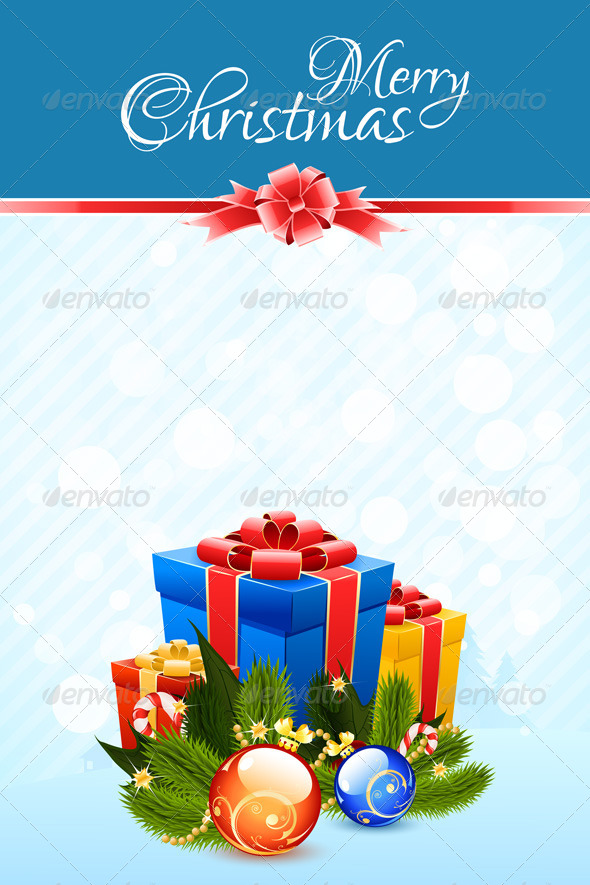 GraphicRiver Christmas Card Template 6390521