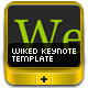 Wiked Keynote Template - GraphicRiver Item for Sale