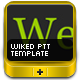 Wiked Template With Footer - GraphicRiver Item for Sale