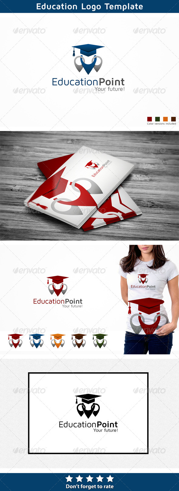 GraphicRiver Education Logo 6390729