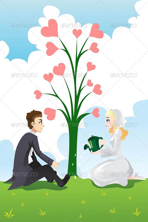 GraphicRiver Wedding Couple 6391421