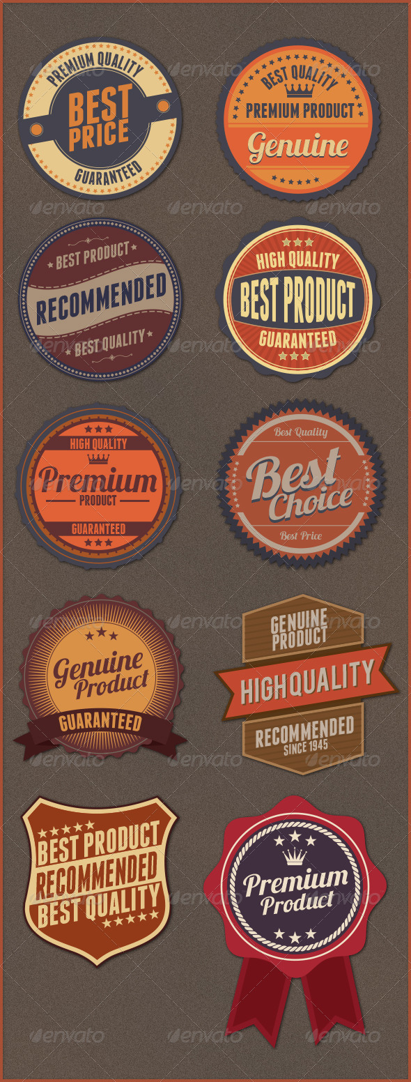 GraphicRiver Badges Design 6391592