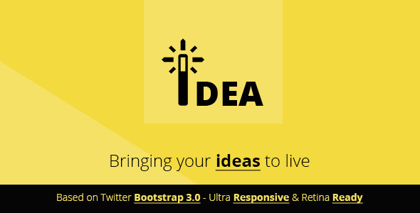 Idea | Multipurpose Html Template
