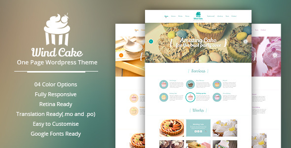 Wind Cake Wordpress Theme