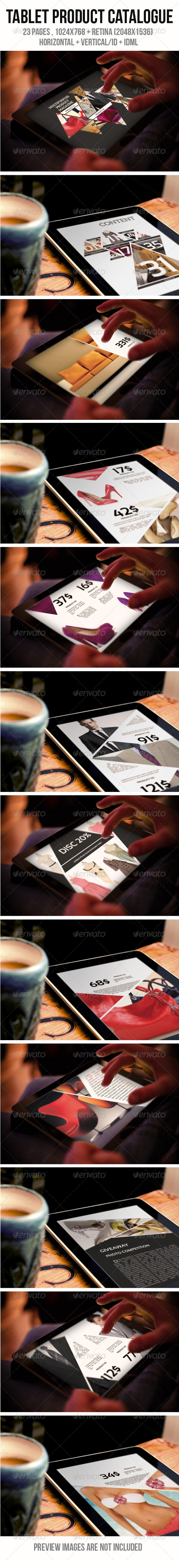 GraphicRiver Tablet Product Catalogue 6392076