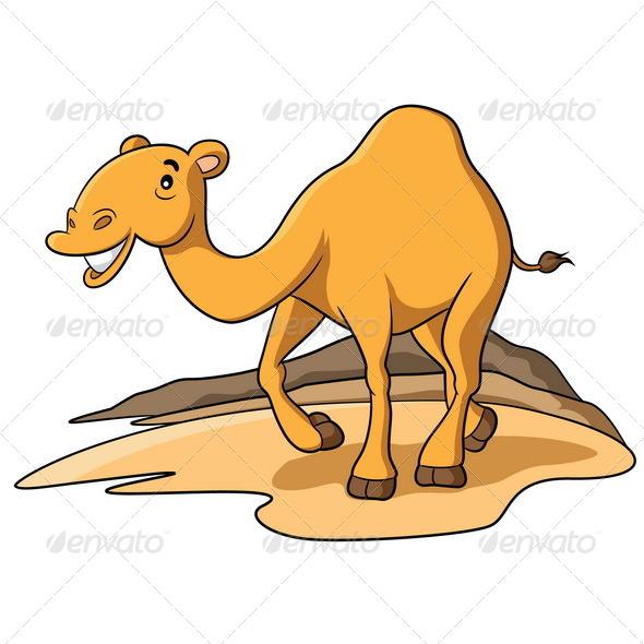 GraphicRiver Camel Cartoon 6392079